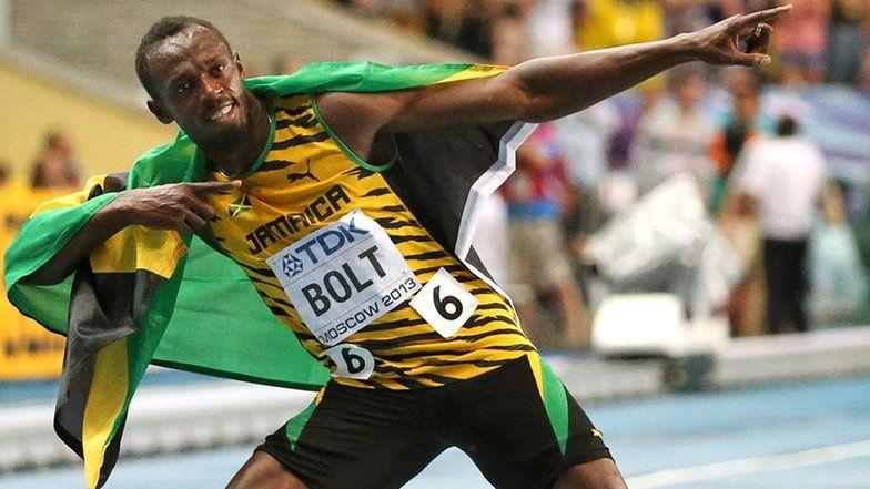 Usain Bolt Siegerpose
