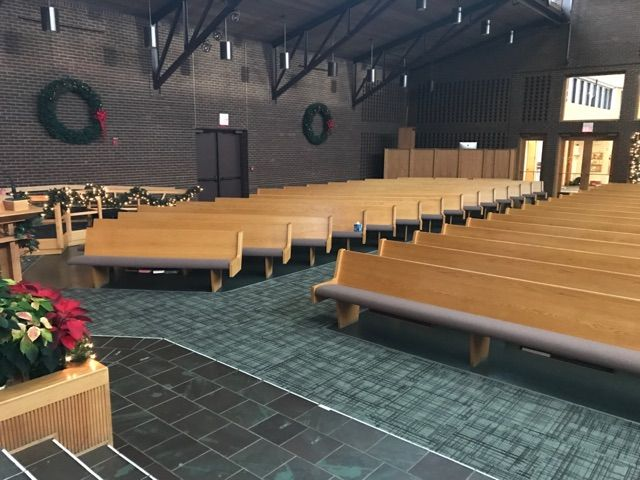 Crossing Carpet Tile By Ef Contract Available In 24 X 24 12 Wide Broadloom Church Decor Church Worship Center Carpet Tiles