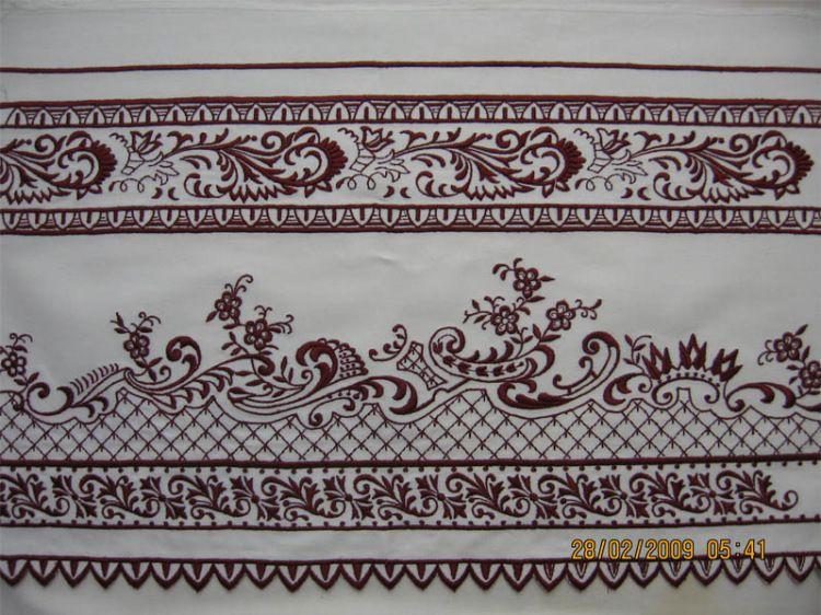 Кадомский русская вышивка