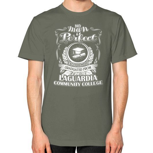 Laguardia community Unisex T-Shirt (on man)