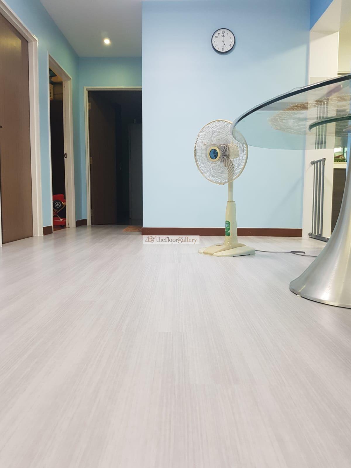 SGBC certified Excellent EcoFriendly vinyl flooring. Low