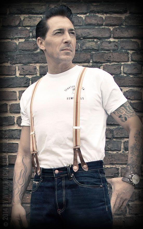 Hosenträger & Denim by Rumble59   Vintage mode, Mode über