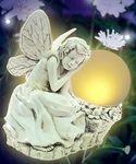 Sleeping Solar Fairy Statue
