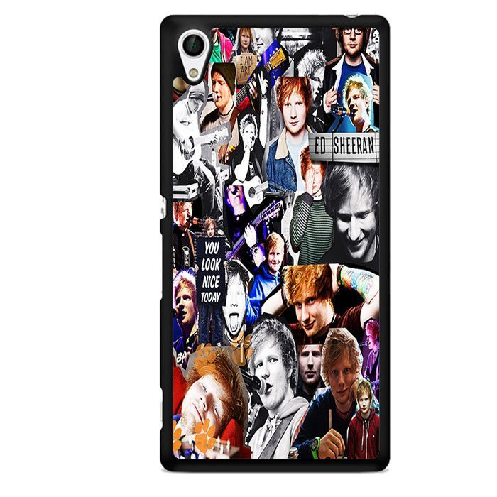 Ed Sheeran Collage Sony Phonecase For Sony Xperia Z1 Xperia Z2 Xperia Z3 Xperia Z4