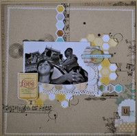 A Project by carolpxto from our Scrapbooking Gallery originally submitted 03/13/13 at 08:37 AM