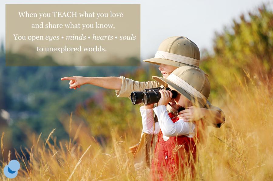 Teach what you love. #inspiration #educator #explore