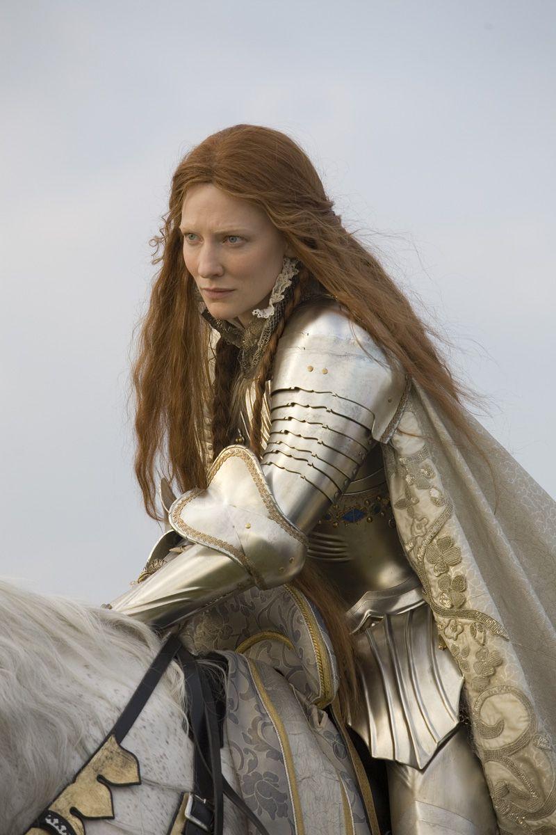 Cate Blanchett as Queen Elizabeth I