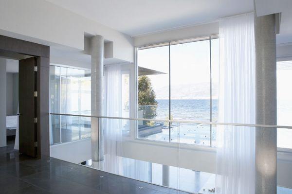 Elegantes vorhangsdesign f r ein modernes haus interior for Vorhang modernes haus