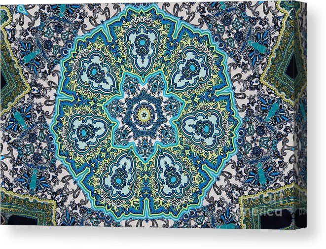 02051 Canvas Print featuring the digital art 02051 by Aileen Griffin