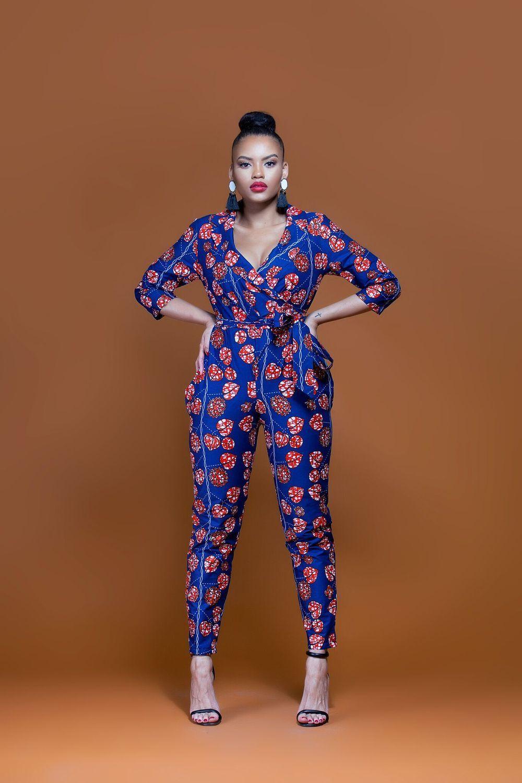ff2952674af9 African print connie jumpsuit
