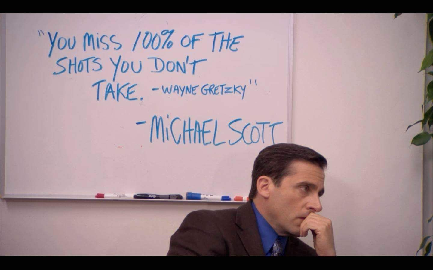 My 2 favorite things: motivational quotes and The Office ...