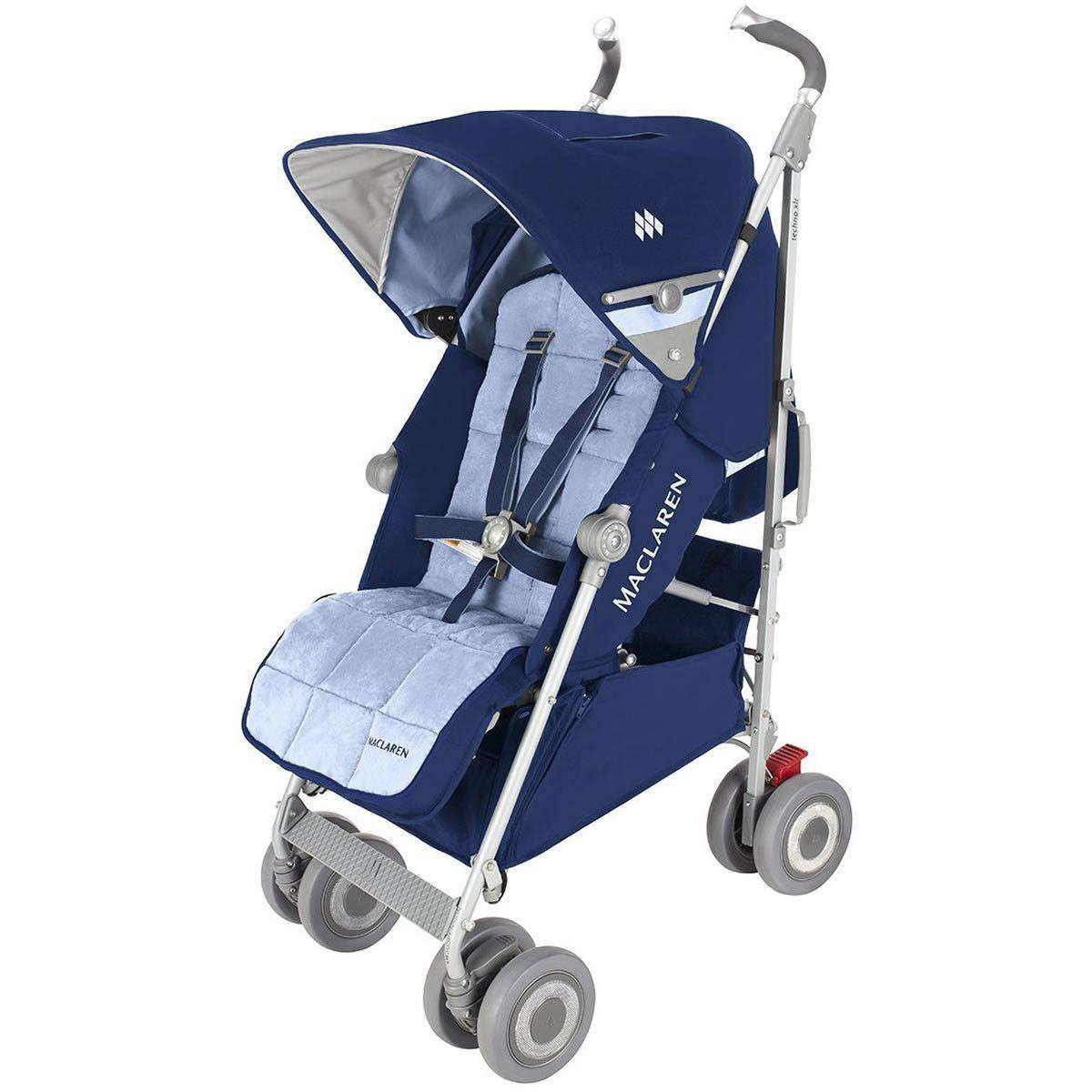 Maclaren Techno XLR Stroller Medieval Navy/Soft Blue