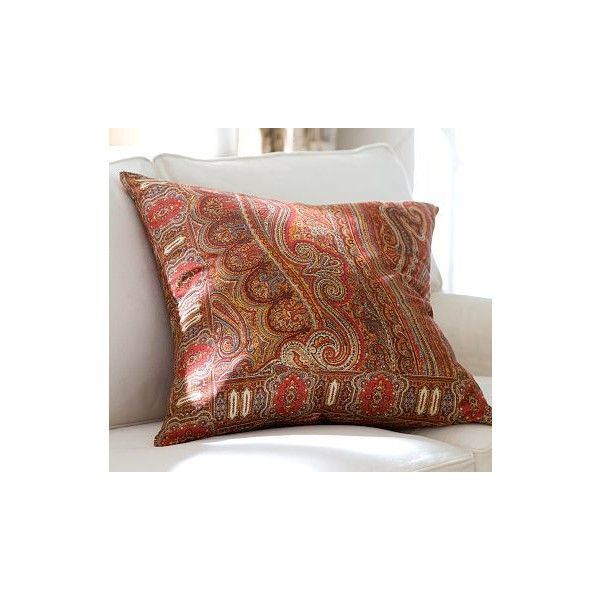 Lara Paisley Pillow Cover Pottery Barn 32 Found On
