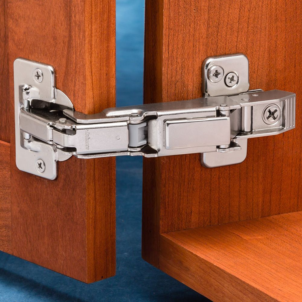 Full Overlay Blum 170 Snap Close Clip Top Frameless Hinges Pair Concealed Hinges Hinges For Cabinets Hinges