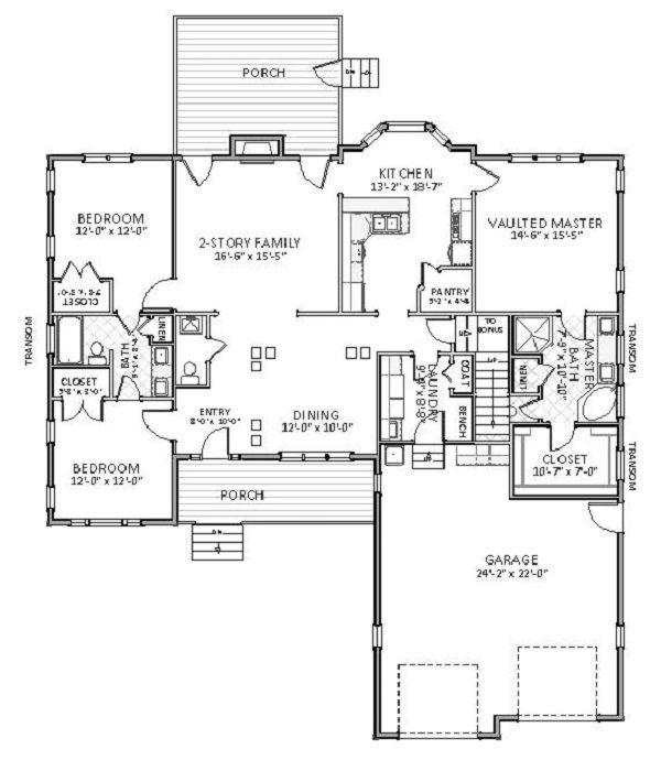 NO SCREENED PORCH; 3 Bedrooms And 2.5 Baths