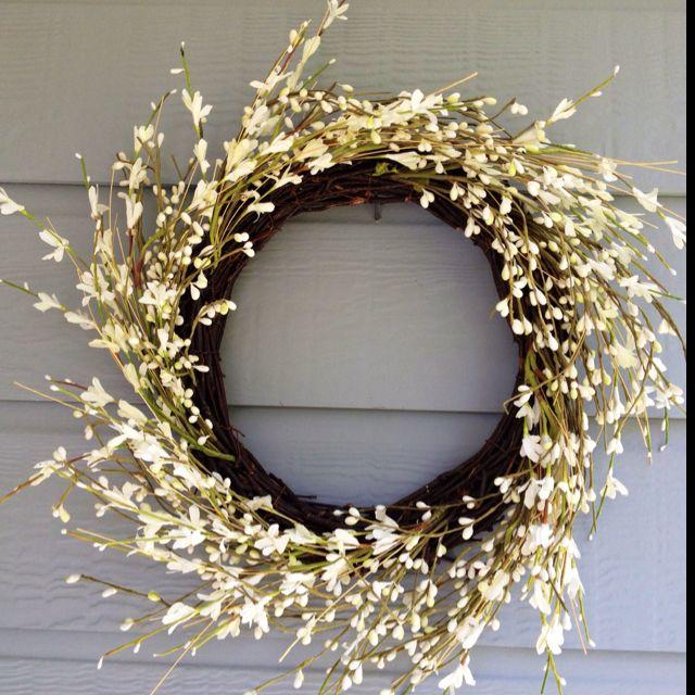 Indoor Wreaths Home Decorating: Cute Outdoor/indoor Wreath