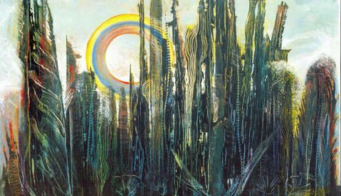 La Forêt - attributed to Max Ernst, 1927 - forgery by ...