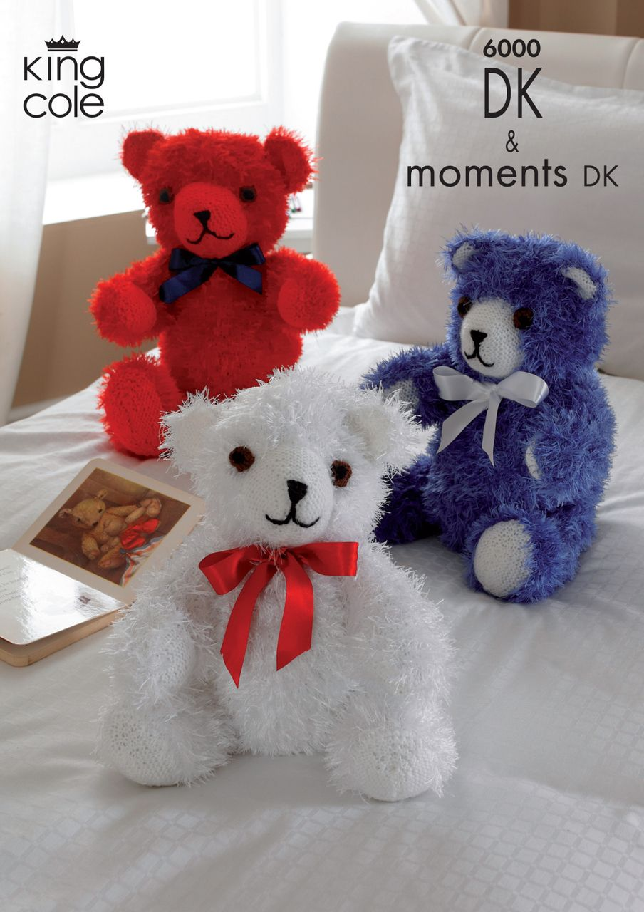 King cole moments double knitting dk pattern teddy bears 6000 king cole moments double knitting dk pattern teddy bears 6000 bankloansurffo Gallery