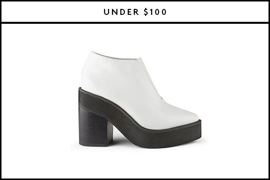 The Best Fall Ankle Boots For Every Budget #refinery29  http://www.refinery29.com/affordable-fall-ankle-boots#slide-3  Wear these retro platforms with your equally throwback-y flares....