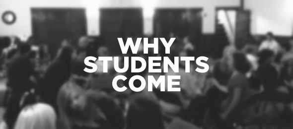 Why they come Attracting and Retaining students in Youth Ministry