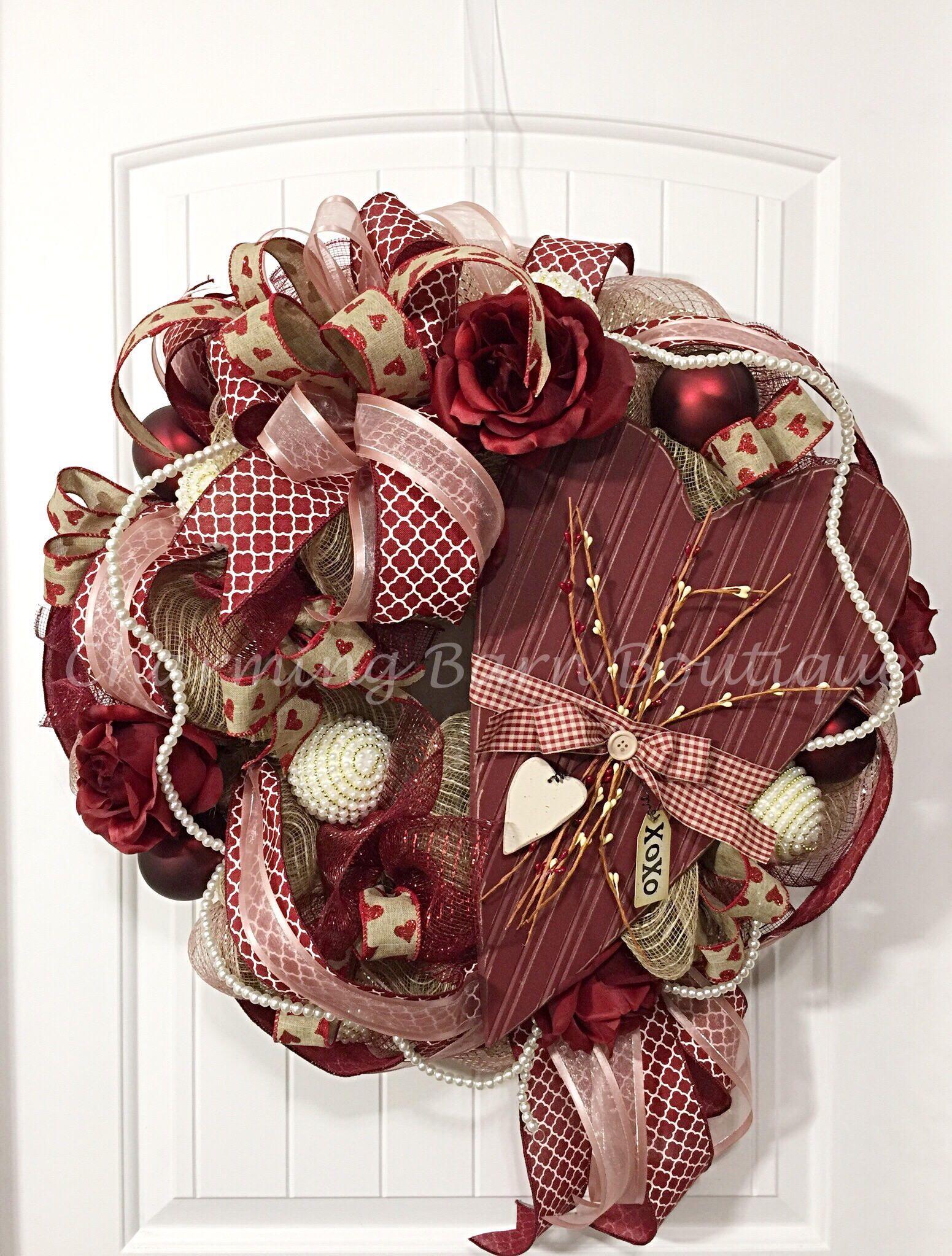 Valentines day wreath valentines day heart wreath valentines valentines day wreath valentines day heart wreath valentines wreath heart wreath front rubansaba