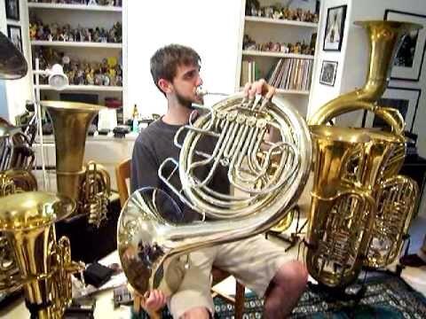 Contrabass French Horn French Horn French Horn Music Horns