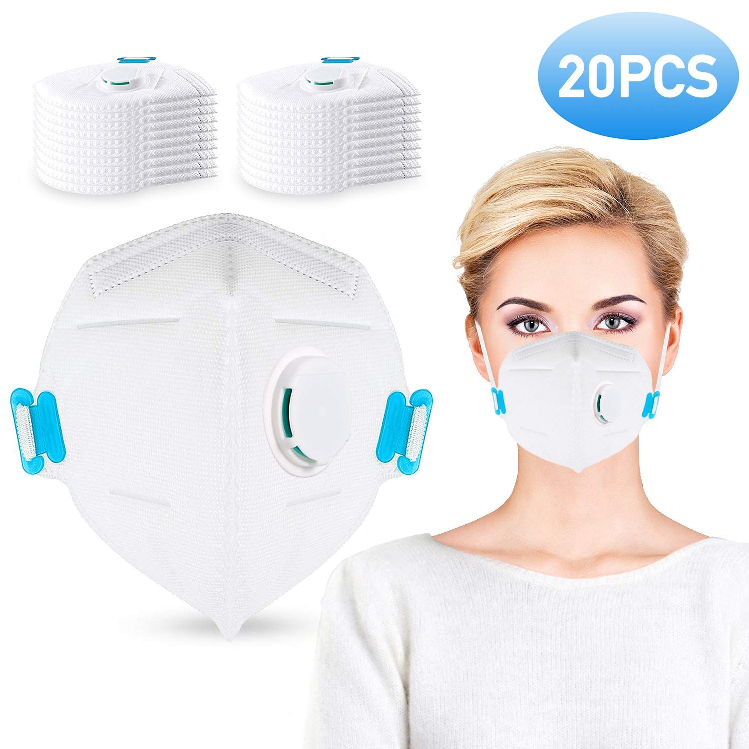 Dust Mask Respirator N95 Face Mask Disposable in