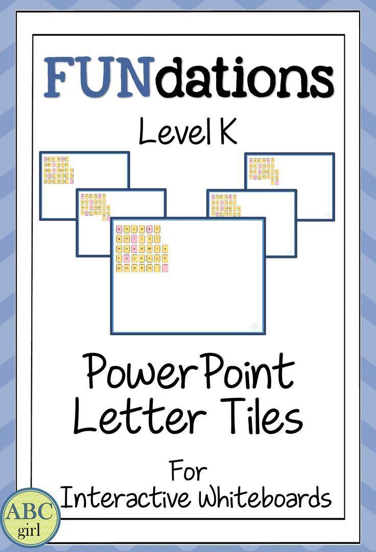 Fundationally Fun PHONICS Level K PowerPoint Distance