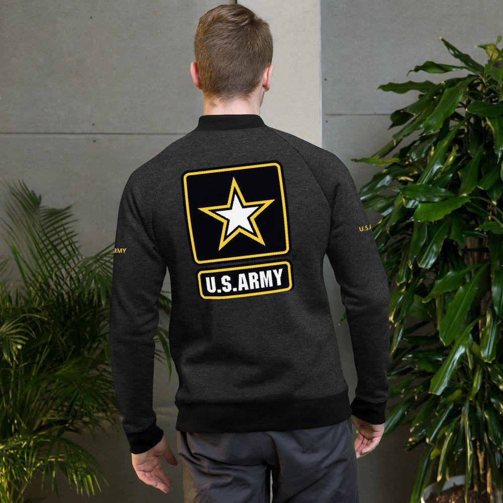 Bomber Jacket U.S.ARMY Bomber jacket, Men sweater, Jackets
