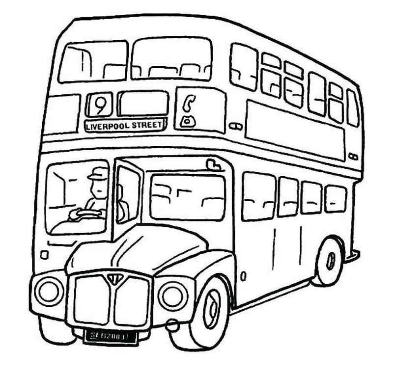 Tayo Bus Coloring Pages Printable Tayo The Little Bus Who Doesn