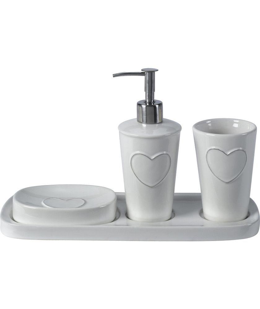 Buy Heart of House Ceramic Bathroom Set at Argos.co.uk - Your Online ...