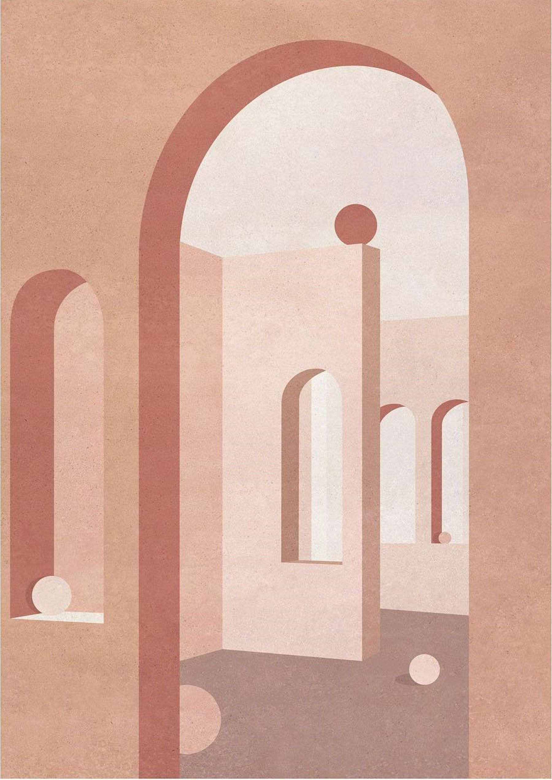Charlotte Taylor's Architecturally Inspired Paintings - IGNANT