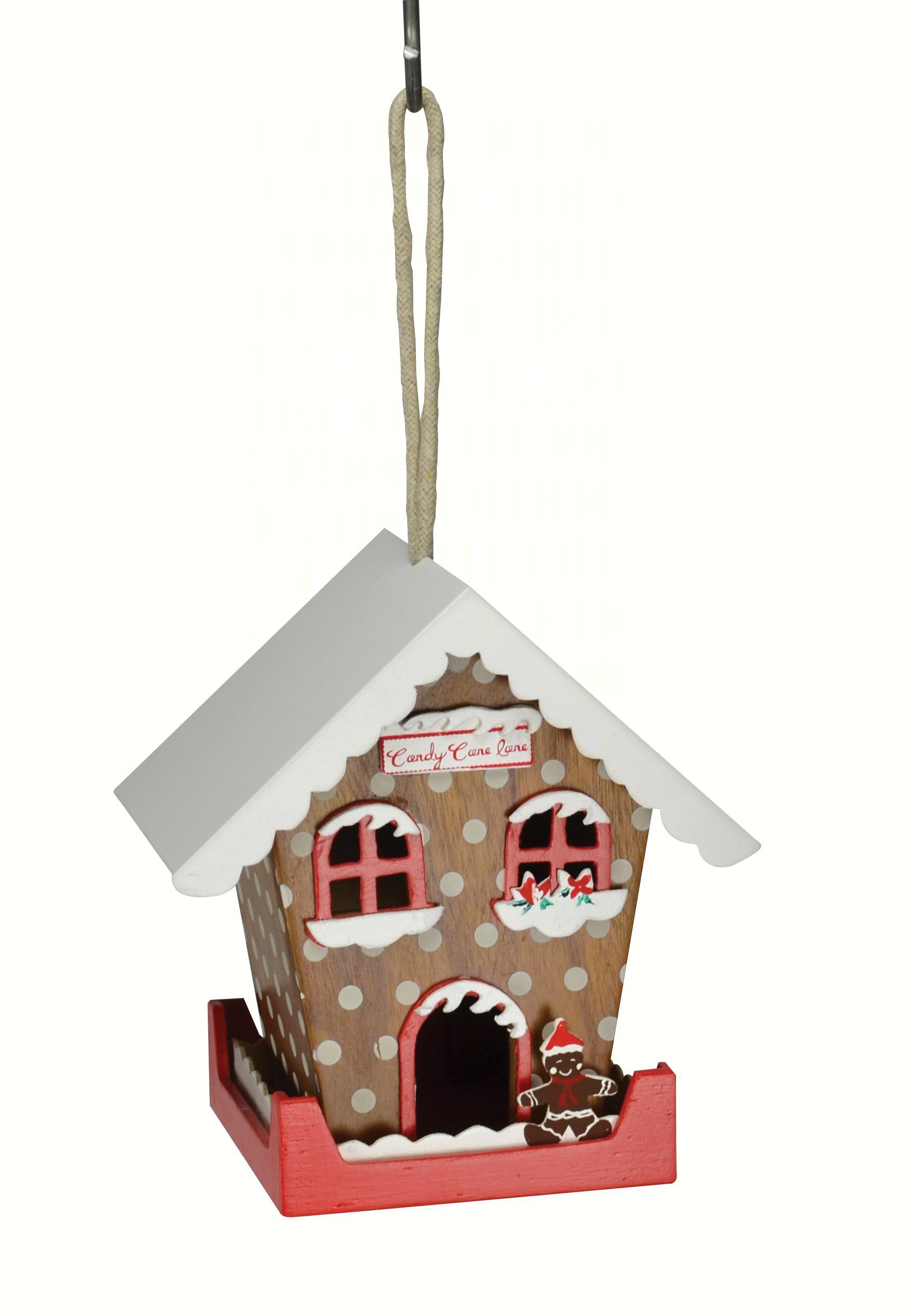 Candy Cane Lane Birdhouse Bird houses, Candy cane