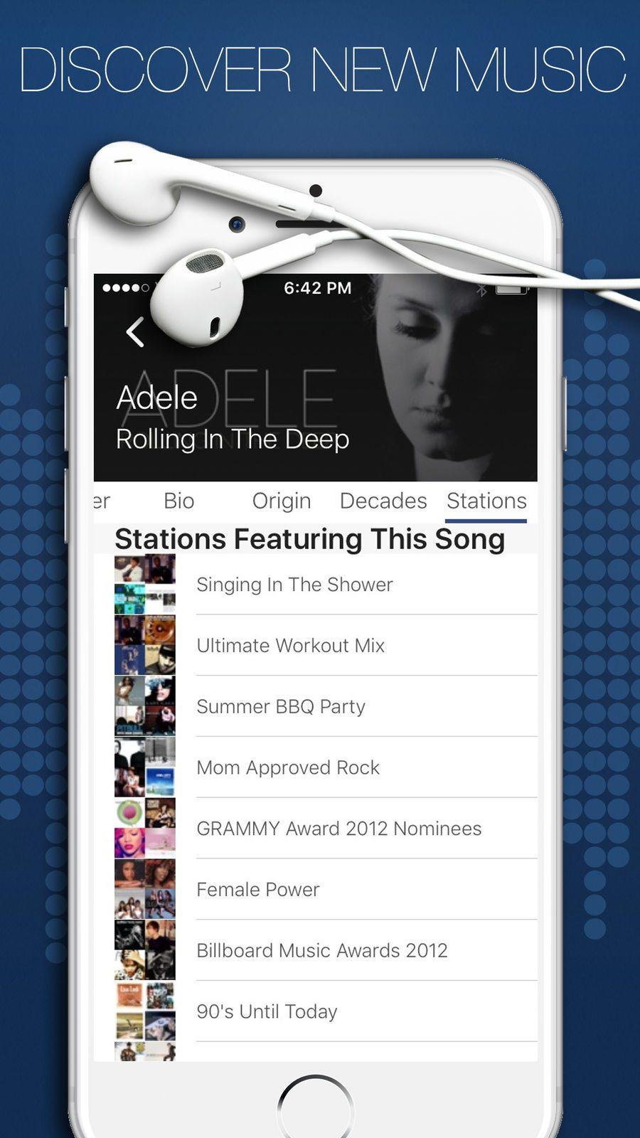 Jango Radio Streaming Music iosEntertainmentappapps