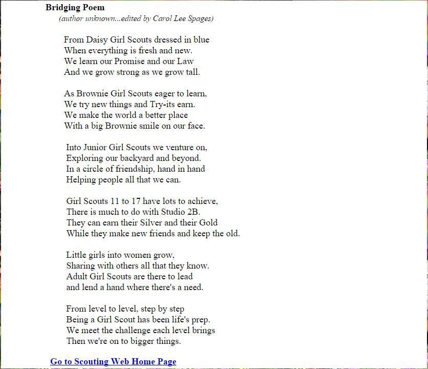 Image result for fun bridging brownies to junior girl ...