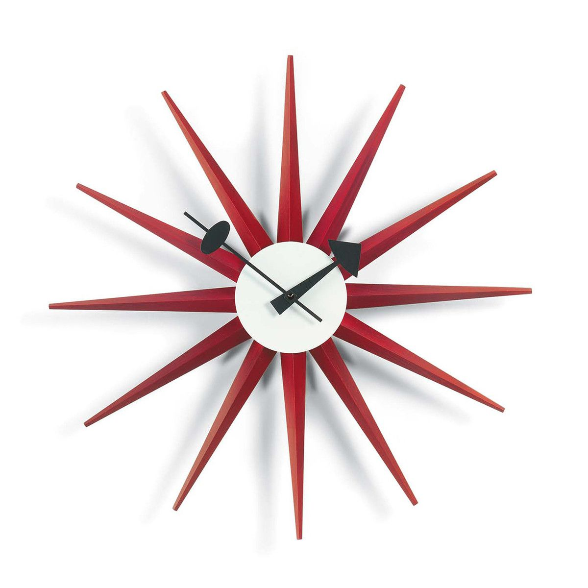 Sunburst Clock By George Nelson Or Was It Irving Harper Http