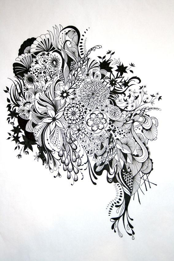Inked By Johanna Basford At Coroflot