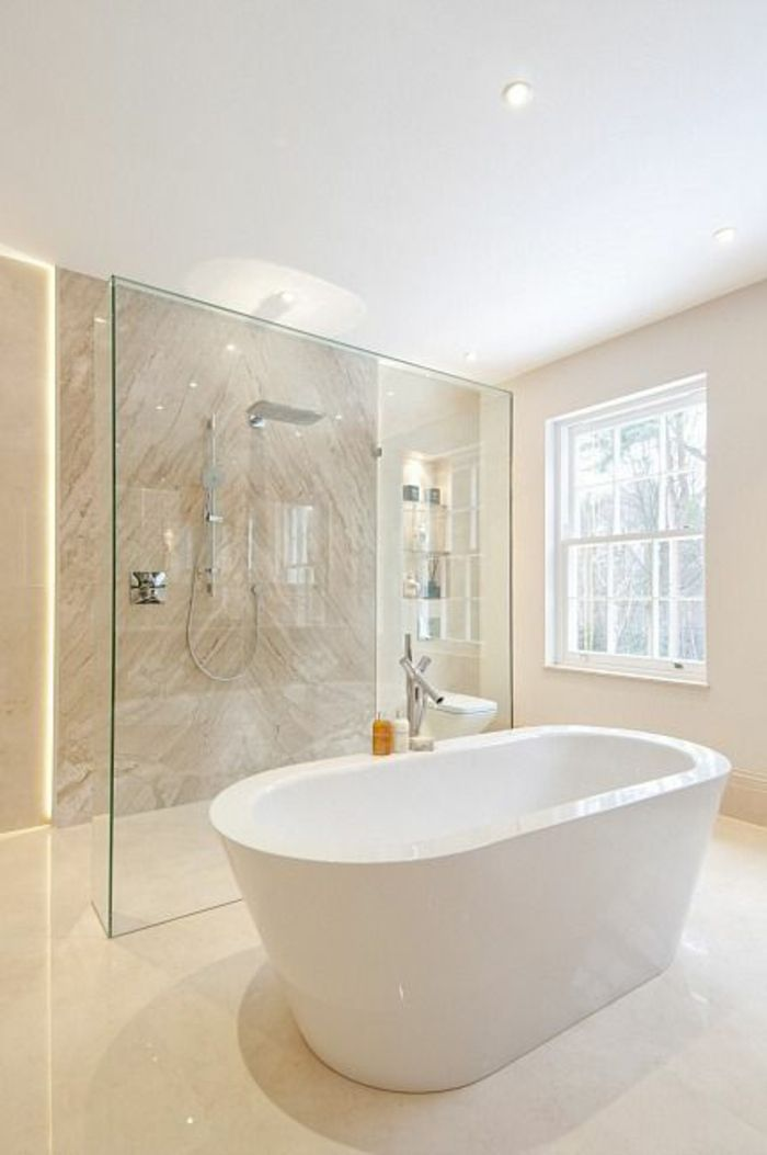 Beautiful Salle De Bain Beige Et Blanche Ideas - Amazing House ...