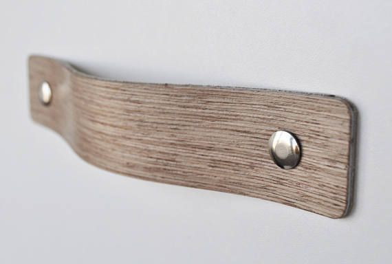 Holz Griffe Ledergriffe Mobel Griffe Schrank Griffe