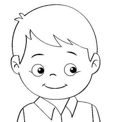 Duygular Boyamasayfası Okulöncesi çocuk Portre Preschool