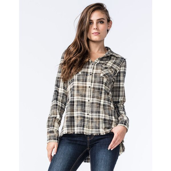 White Crow Little Sparrow Womens Flannel Shirt 50 Liked