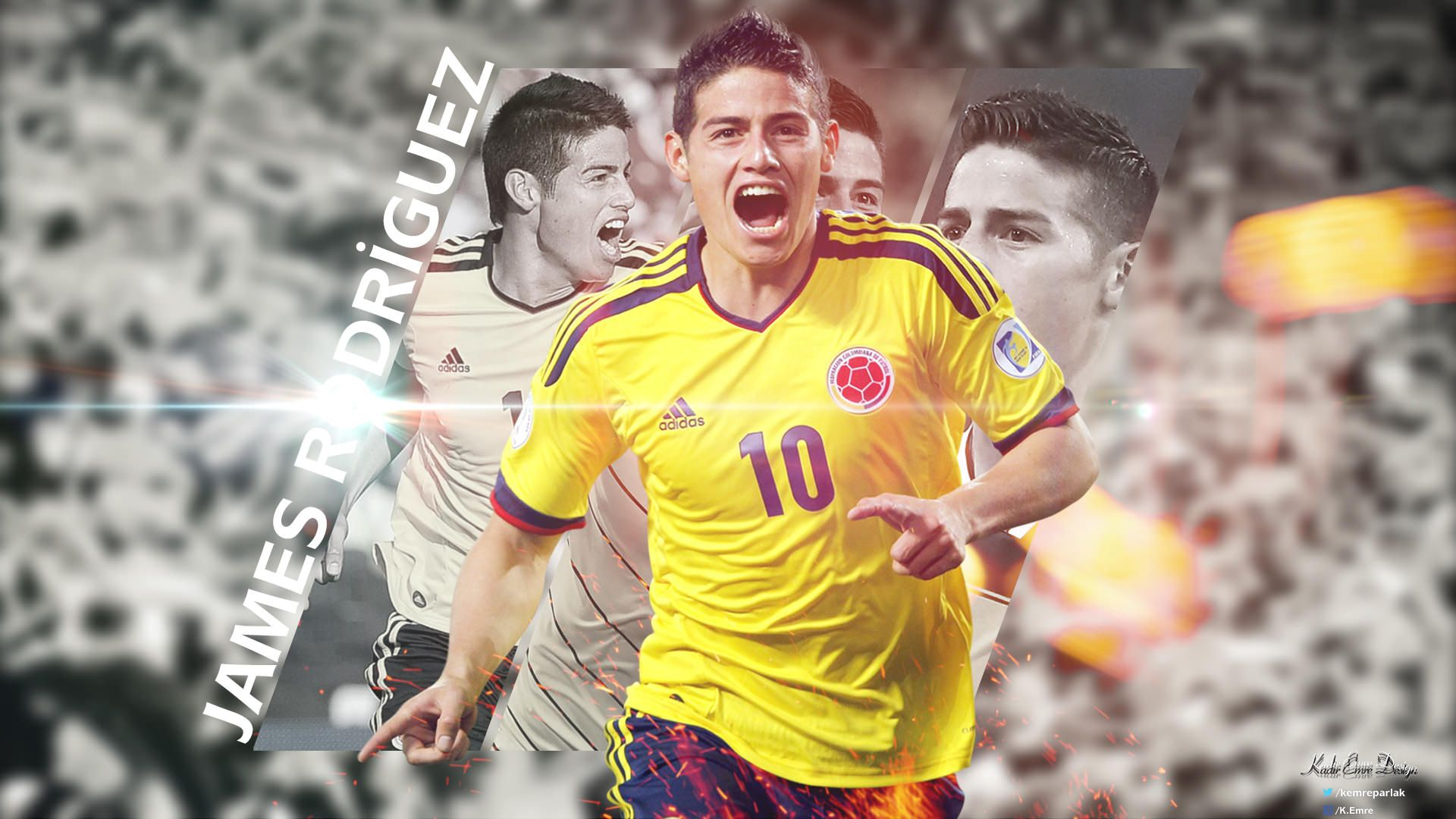 James rodriguez columbia wallpaper football wallpapers hd - James rodriguez wallpaper hd ...
