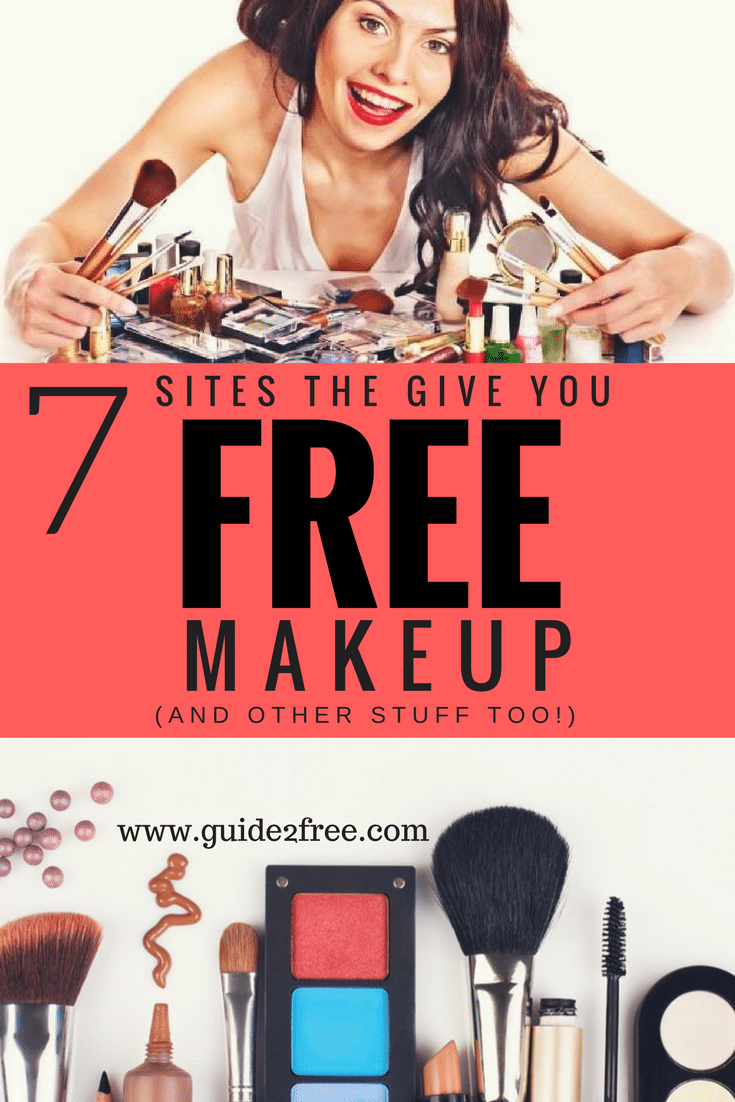 7 Sites That Will Give You Free Beauty Samples And Other Stuff Too Free Beauty Products Free Beauty Samples Get Free Makeup
