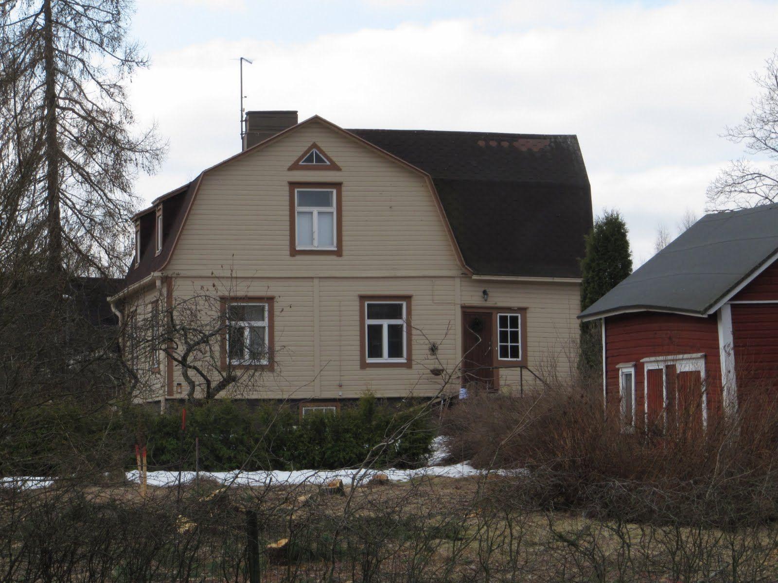 Savio: A. Aimon, Savion suuren muusikon jäljillä, Nybackan  huvila, jossa A.Aimo asui