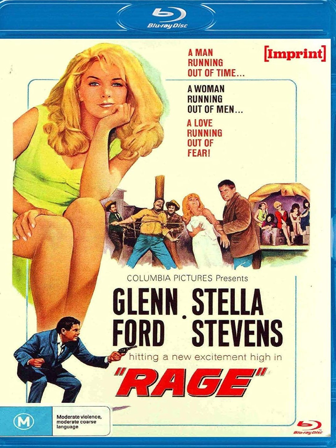 Dvdbeaver On Twitter In 2021 Running Women Rage Columbia Pictures