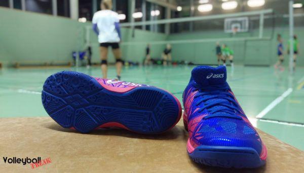 asics volleyballschuhe damen test