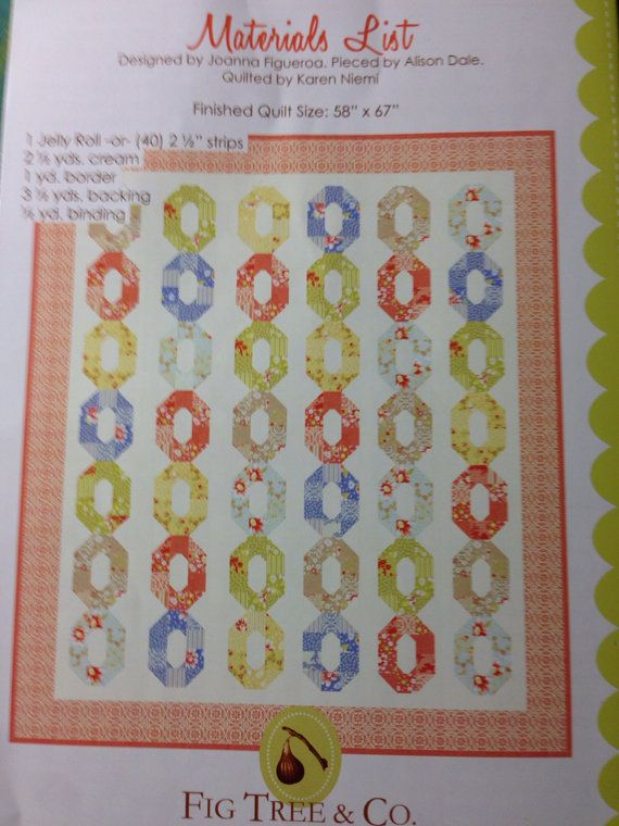 Daisy Chain quilt pattern by Fig Tree and Co. | Sy: Stora quiltar ... : daisy chain quilt pattern - Adamdwight.com