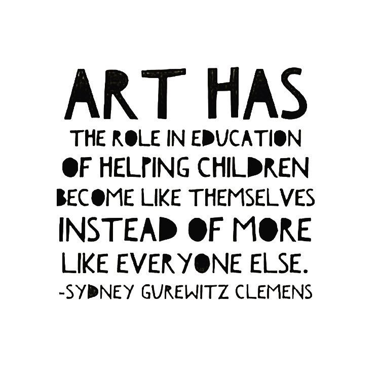 T H E S P A C E Art Gallery On Instagram Art Is For Everyone We Couldn T Agree More With Today S Statement Art Teacher Quotes Artist Quotes Art Quotes