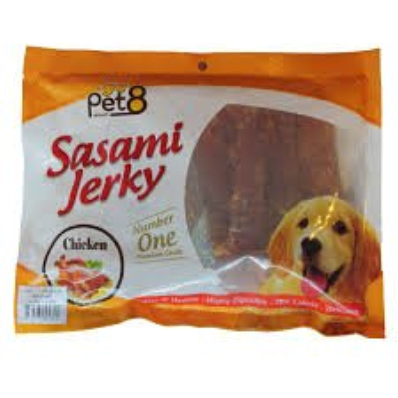 Pet8 Snack For Adult Dog Chicken Tenderloin Jerky 360g You