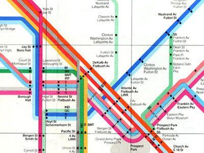 Downtown Nyc Subway Map.Kick 1 0 Vignelli New York City Nyc Subway Map Subway Map York Map